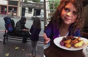 Gest tej dziewczynki podbił serca internautów [WIDEO]