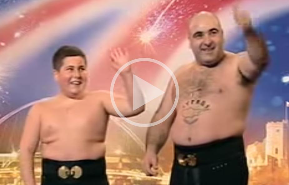 Ojciec i syn w Mam Talent! parodiują słynne show [WIDEO]