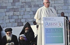 Franciszek: tylko pokój jest święty, a nie wojna!