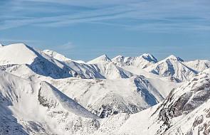Wysoko w Tatrach spadł śnieg