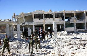 Siły rządowe posuwają się naprzód w starym Aleppo