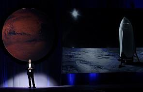 Elon Musk przedstawił plan kolonizacji Marsa