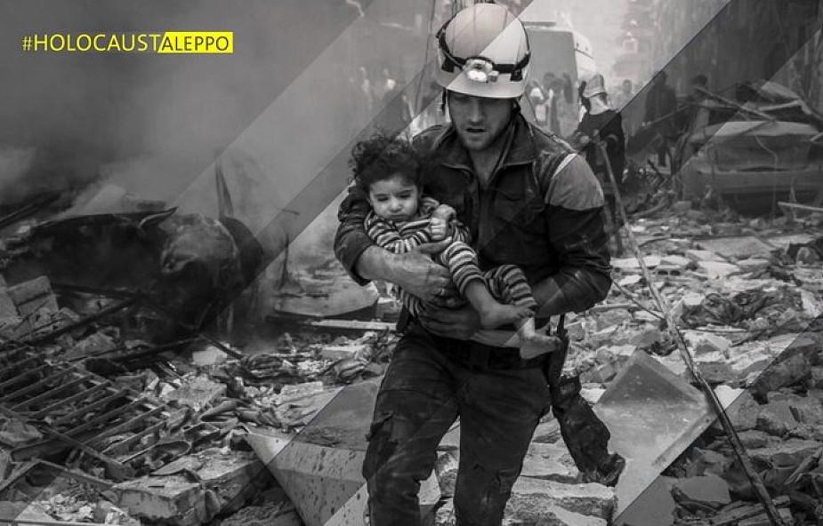 Patrząc na cierpienie Aleppo