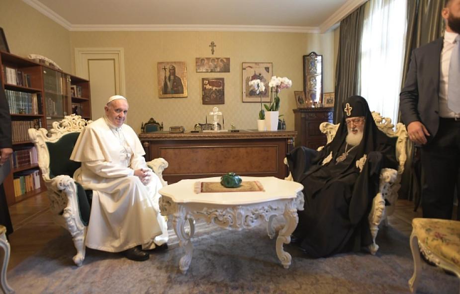 Franciszek o przyjaźni z gruzińskim prawosławiem