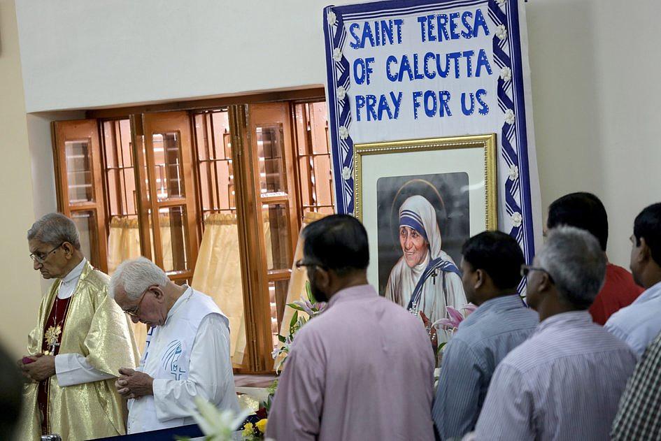Misjonarki Miłosierdzia pielgrzymowały do grobu św. Matki Teresy - zdjęcie w treści artykułu
