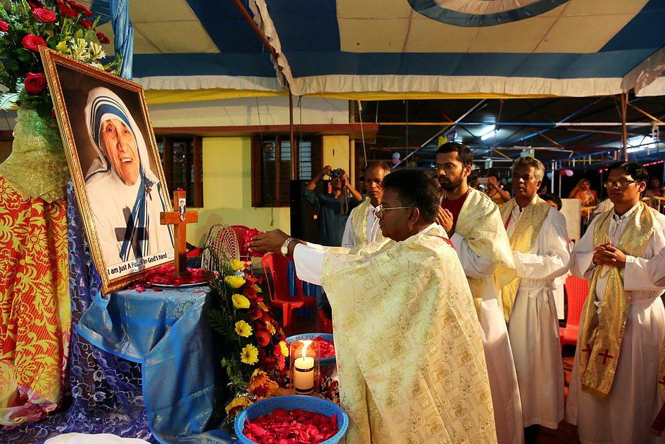 Misjonarki Miłosierdzia pielgrzymowały do grobu św. Matki Teresy - zdjęcie w treści artykułu nr 4