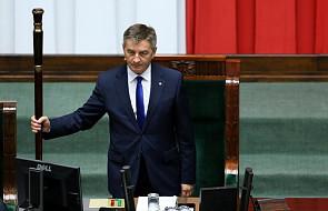 Kuchciński zostaje, Sejm odrzucił wniosek PO