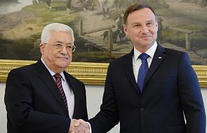Wizyta prezydenta Palestyny w Polsce