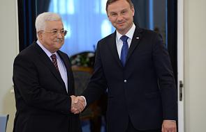 Duda i Abbas o rozwiązaniu konfliktu izraelsko-palestyńskiego