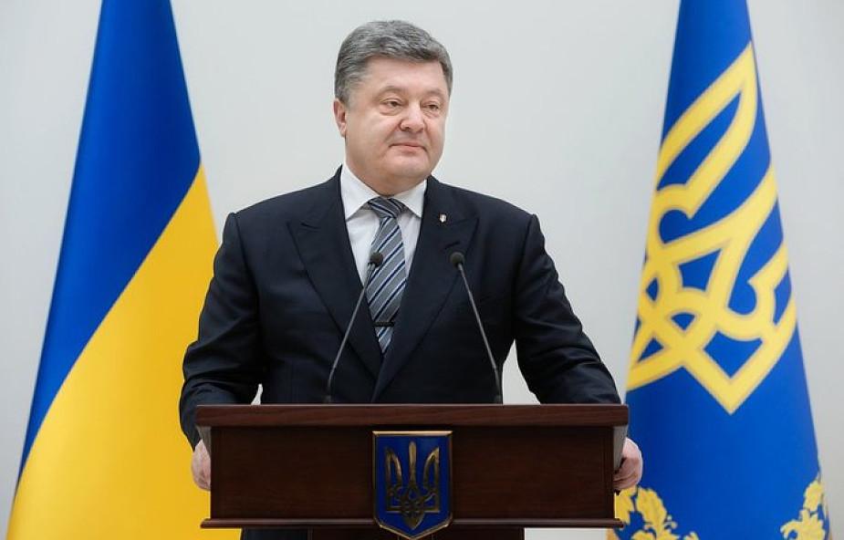 Poroszenko nawołuje do konsolidacji w obliczu wojny