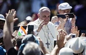 Papież przyjął młodych pielgrzymów na rowerach