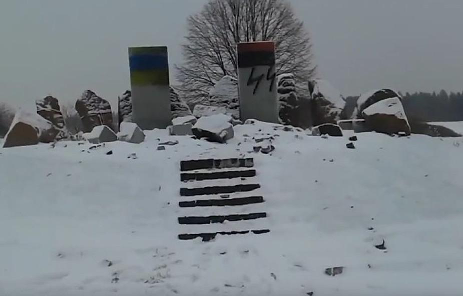MSZ Ukrainy potępiło zniszczenie pomnika