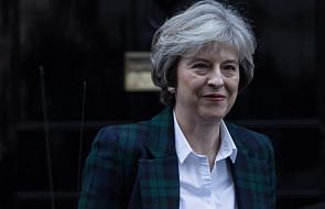 May zapowiada wyjście W. Brytanii z unijnego rynku