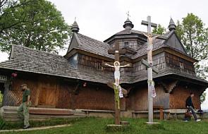 Łódź: wystawa pokazująca huculskie cerkwie