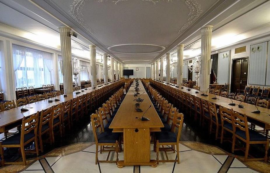 Jest śledztwo ws. posiedzenia Sejmu w Sali Kolumnowej