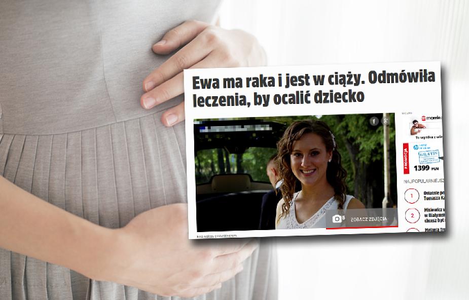 W czasie ciąży dowiedziała się, że ma raka. Postanowiła urodzić dziecko