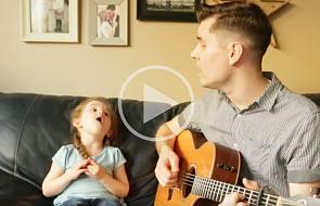 Wzruszająca piosenka taty i jego córeczki [WIDEO]