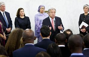 """Nowy szef ONZ: trzeba rozwiązać """"straszne problemy"""" świata"""