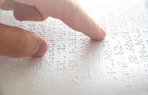 Rafalska: staramy się, aby świat dla osób niewidomych stawał się łatwiejszy