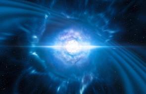 Pierwszy raz wykryto fale grawitacyjne i rozbłysk od zderzenia gwiazd neutronowych