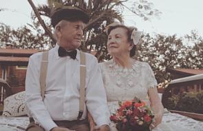 Sesja ślubna... 60 lat później [FOTO]