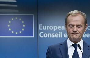 Tusk: nie widzę przyszłości dla projektu relokacji uchodźców, należy szukać porozumienia m.in z Polską