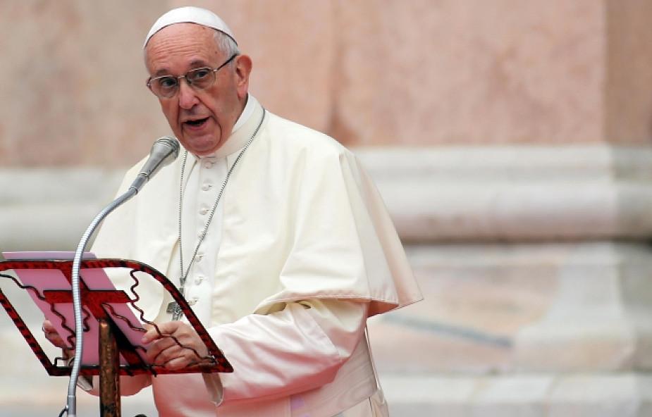Papież pobił rekord. Wczoraj wygłosił 7 przemówień, by dać nadzieję tysiącom osób