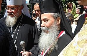 Greckoprawosławny patriarcha Jerozolimy odwiedzi papieża