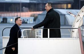 Finlandia: para prezydencka przybyła do Helsinek