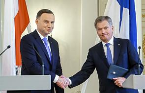Prezydent Duda za konsekwentną polityką sankcji wobec Rosji