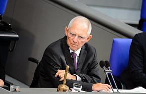 Wolfgang Schaeuble został nowym przewodniczącym Bundestagu
