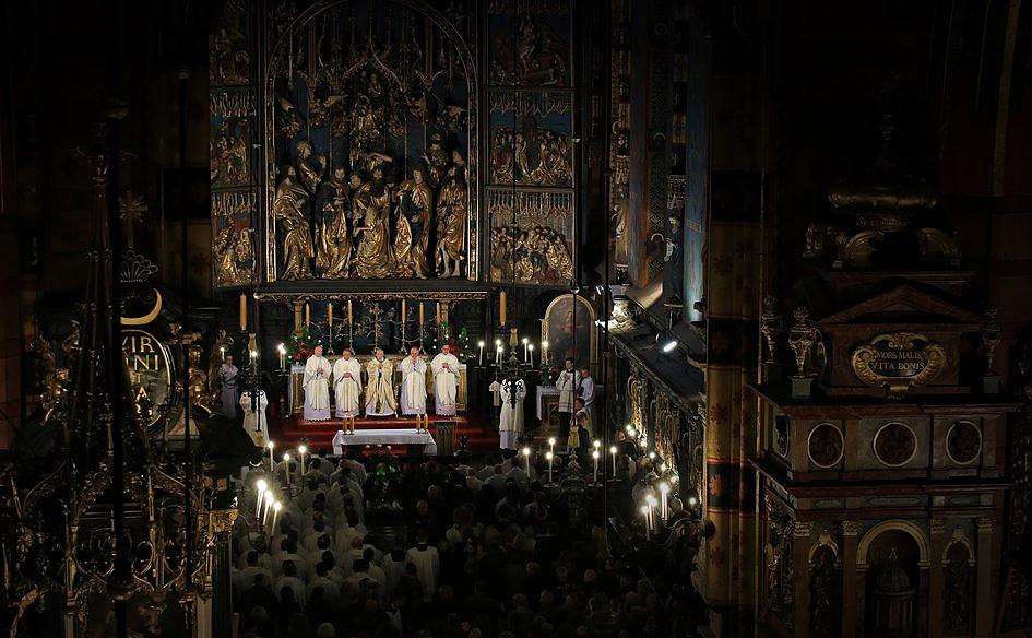 Tak Kraków żegnał abpa Grzegorza Rysia [GALERIA] - zdjęcie w treści artykułu