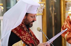 Abp Szewczuk: Ukraina znalazła się w śmiertelnym potrzasku, ale Bóg nad nią czuwa