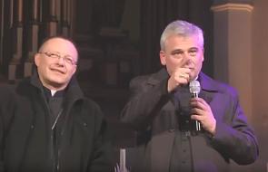 """Abp Ryś niespodziewanie pojawił się w kościele jezuitów. """"Przyprowadziłem wam swojego kolegę"""""""