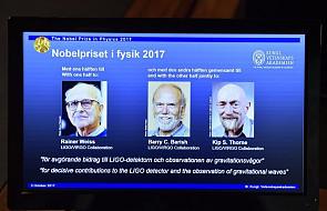 Przyznano nagrodę Nobla z fizyki. Laureatami odkrywcy fal grawitacyjnych