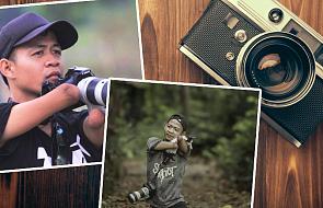 Chociaż nie ma rąk i nóg, robi zdjęcia o jakich marzy niejeden fotograf