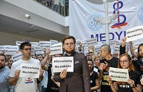 Rezydenci: prosiliśmy polityków opozycji, żeby nie przychodzili na nasz protest