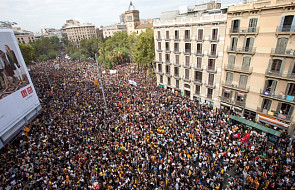 Hiszpania: w protestach w Katalonii wzięło udział około 900 tys. osób