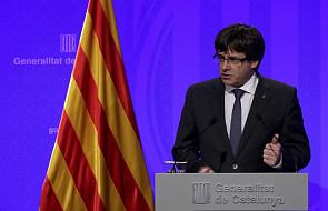 Premier Katalonii zapewnia, że chce negocjacji. Krytykuje wystąpienie króla