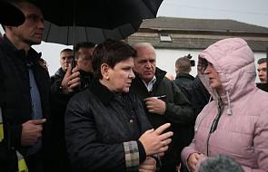 Premier Szydło: wszyscy poszkodowani w wyniku wichur otrzymają pomoc
