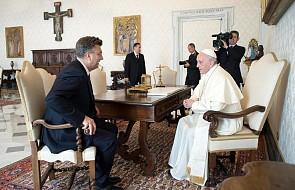 Papież przyjął premiera Chorwacji