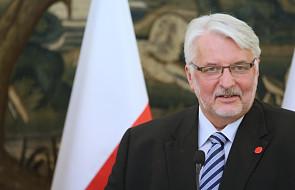 Waszczykowski: liczymy, że uwagi MSZ ws. projektu o służbie zagranicznej będą uwzględnione