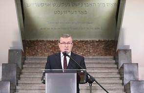 Gliński podziękował Oneg Szabat, organizacji, która dokumentowała losy Żydów pod okupacją