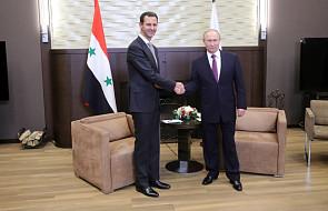 Rosja: Putin przyjął w Soczi prezydenta Syrii