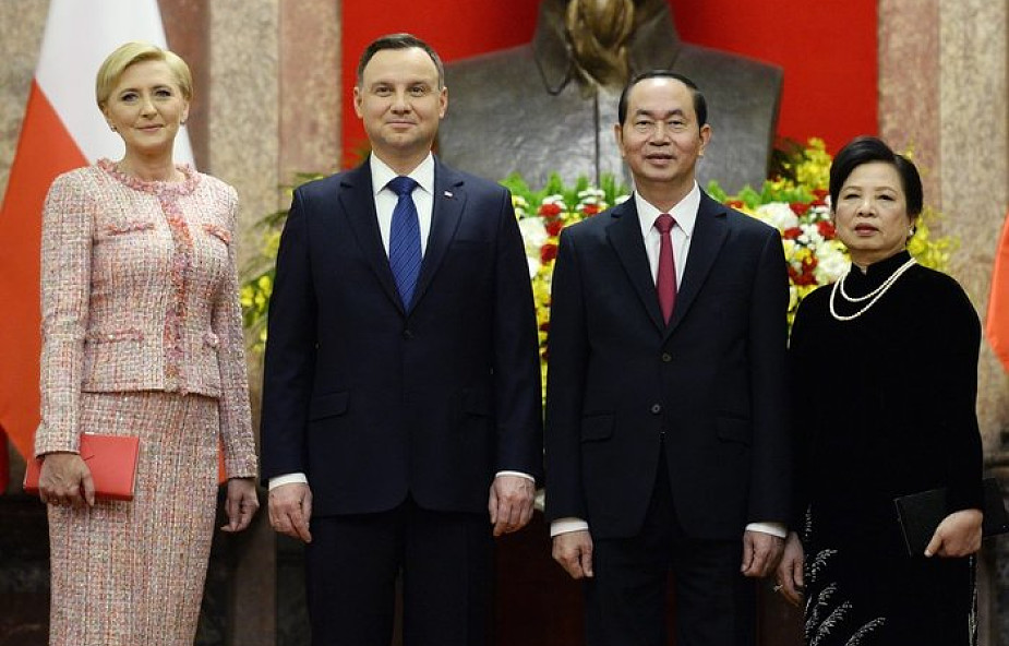Prezydent Duda: Wietnam jest otwarty na polskie towary i inwestycje