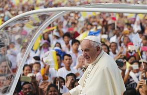 Franciszek w Mjanmie: bądźcie świadkami pojednania i pokoju! [DOKUMENTACJA]