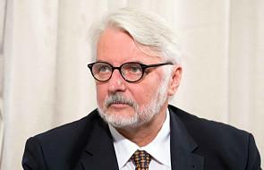 Minister Spraw Zagranicznych udaje się w sobotę z wizytą do Lwowa