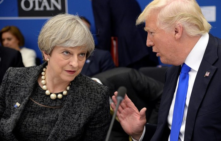 Trump: niech May skupi się na islamskim terroryzmie, a nie na mnie