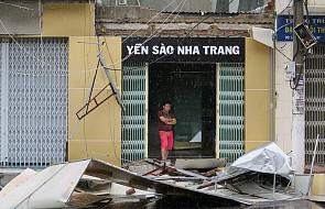 Wietnam: 19 ofiar śmiertelnych tajfunu