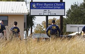 Sprawca masakry w Teksasie miał skłonność do przemocy